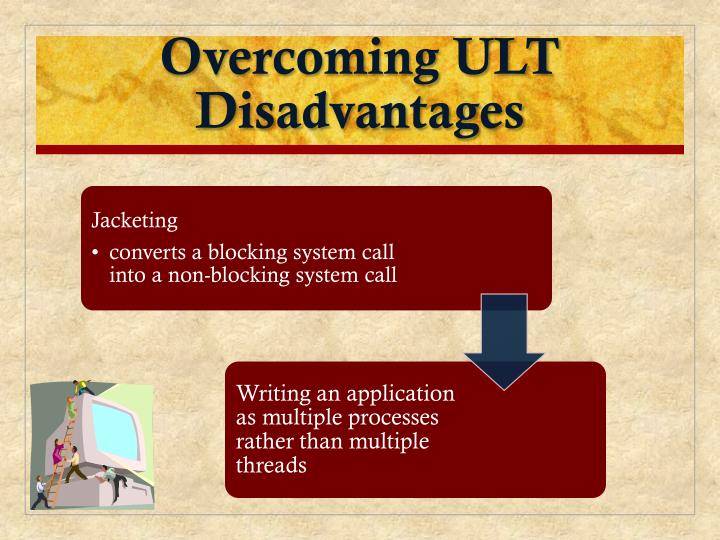 Overcoming ULT Disadvantages