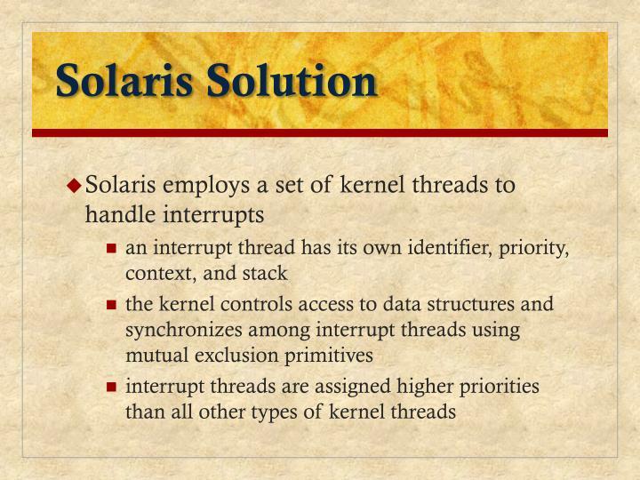 Solaris Solution