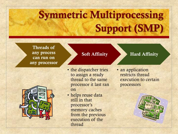 Symmetric Multiprocessing Support (SMP)