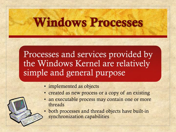 Windows Processes