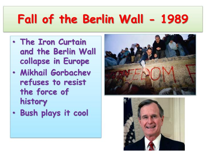 Fall of the Berlin Wall - 1989