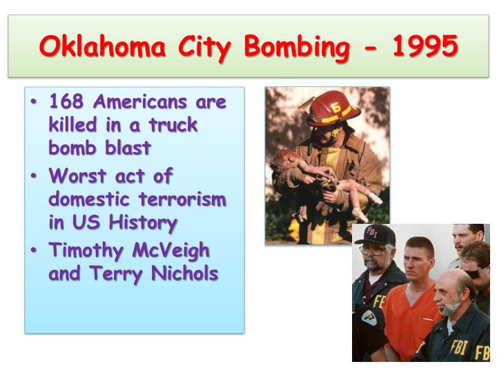 Oklahoma City Bombing - 1995