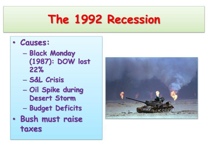 The 1992 Recession