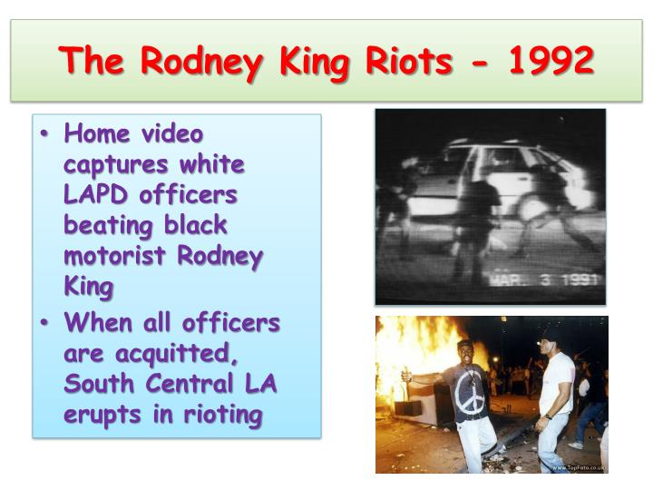 The Rodney King Riots - 1992