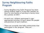 surrey neighbouring faiths program1