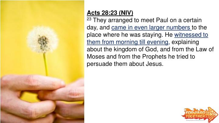 Acts 28:23