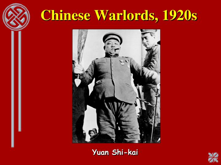 Chinese Warlords, 1920s