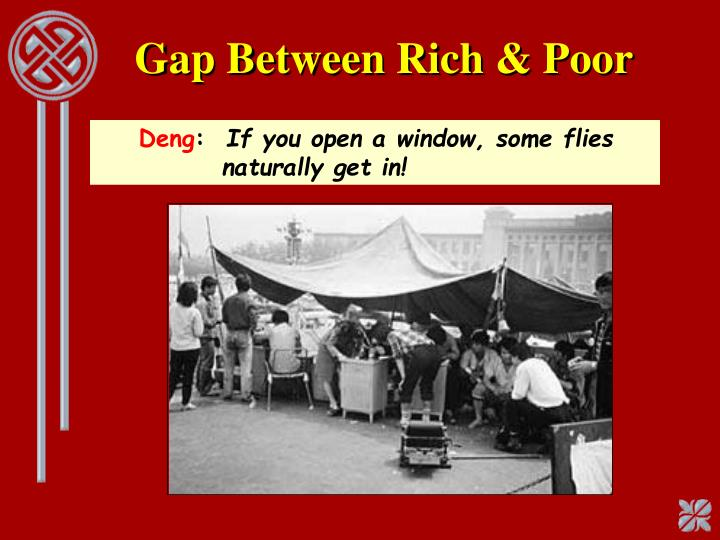 Gap Between Rich & Poor