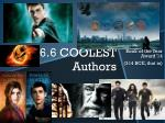 6 6 coolest authors