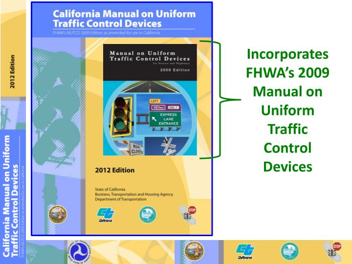 california manual on uniform traffic control devices