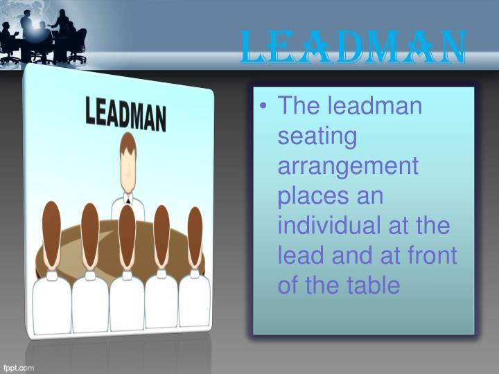 Leadman