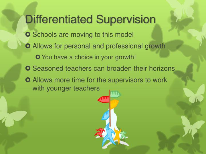 Differentiated Supervision