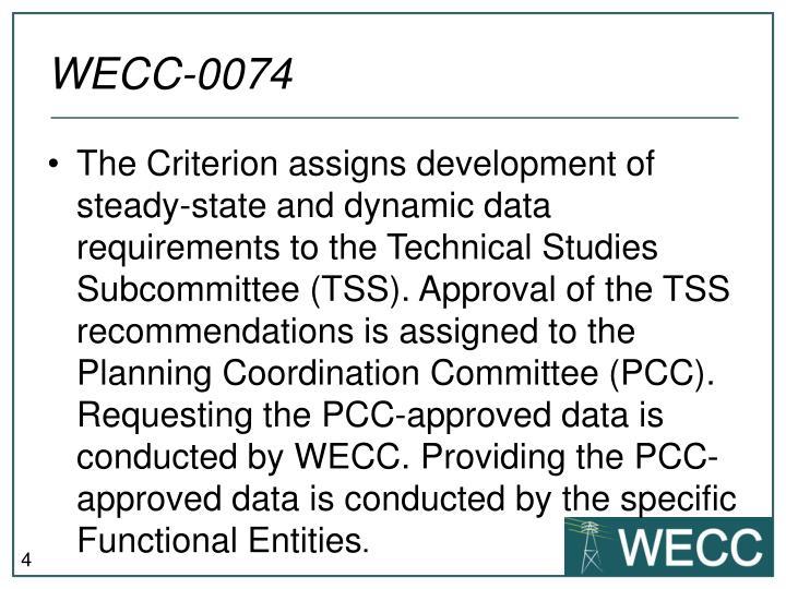 WECC-0074