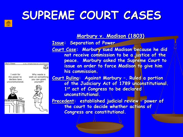 what did the judiciary act established