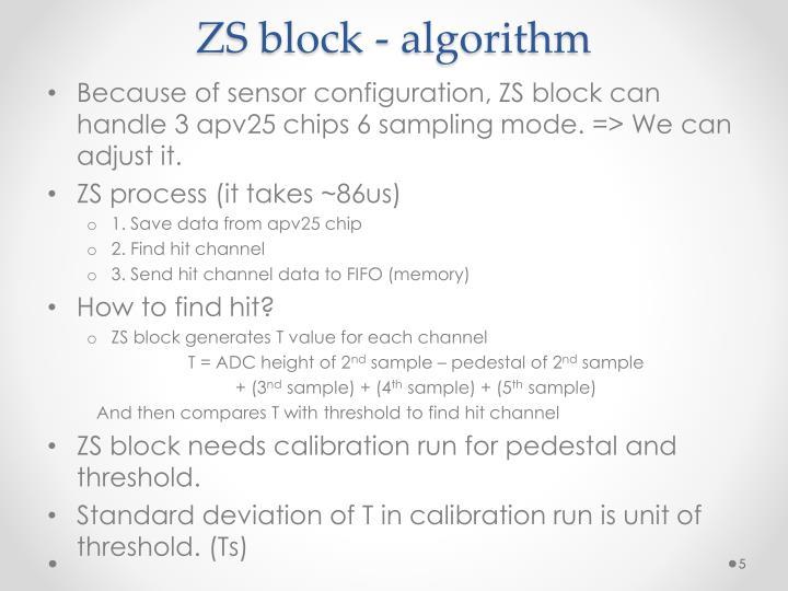 ZS block -