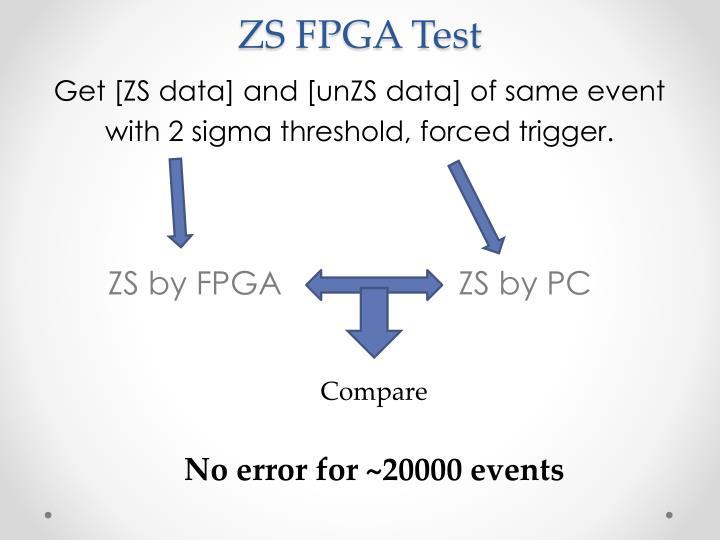 ZS FPGA Test