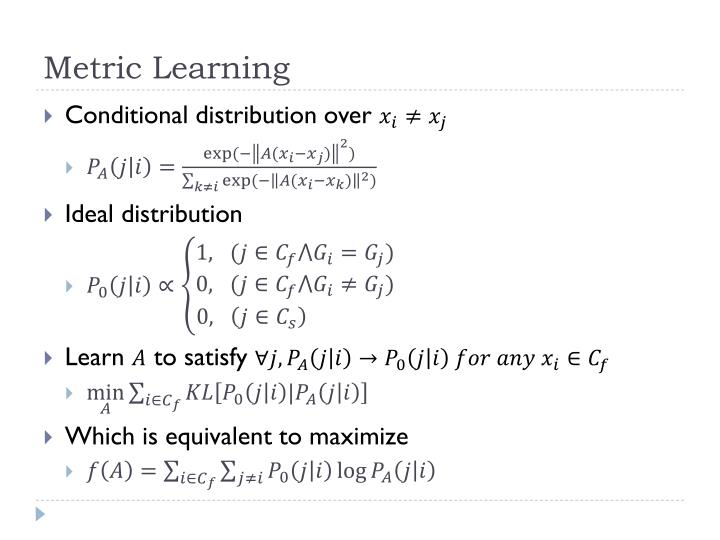 Metric Learning