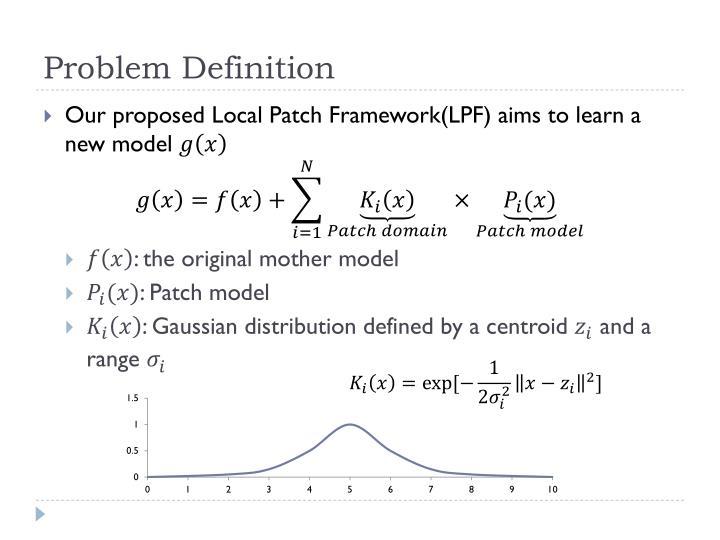 Problem Definition