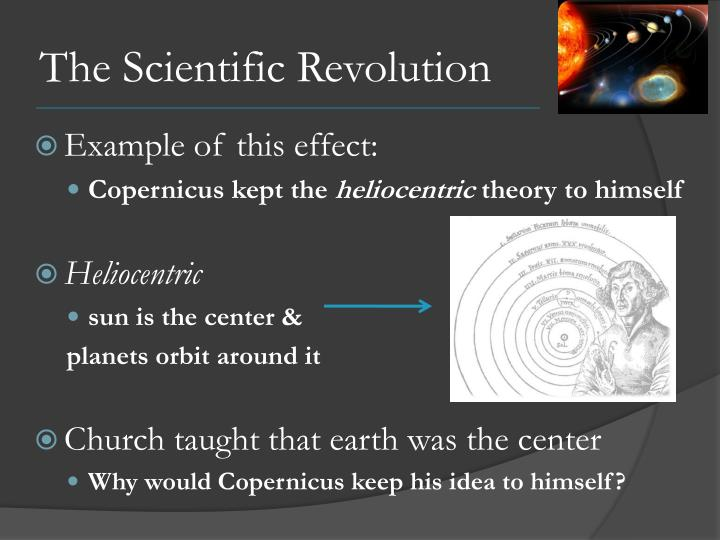 The scientific revolution1