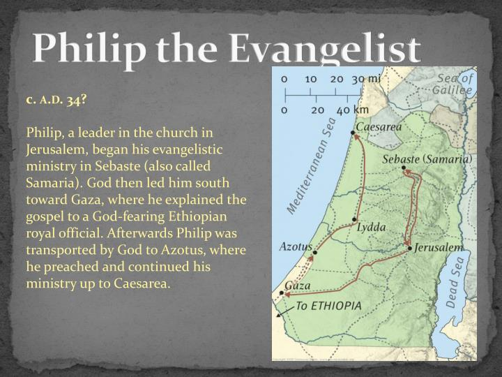 Philip the Evangelist