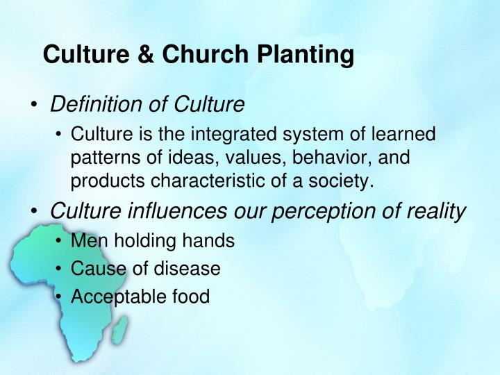 Culture church planting1
