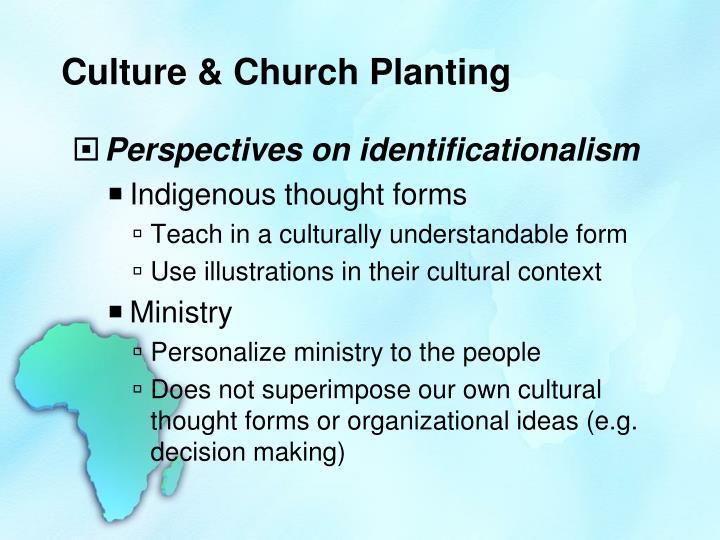 Culture & Church