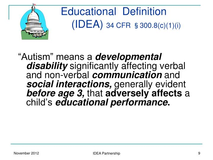 Educational  Definition