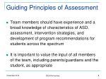 guiding principles of assessment2