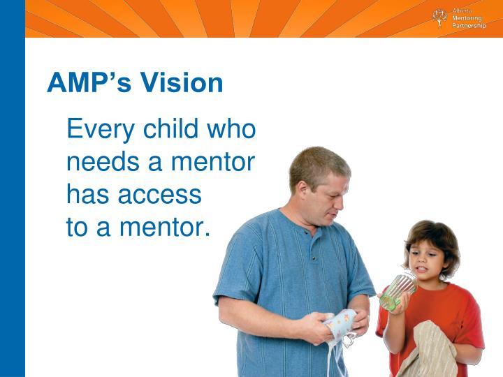 AMP's Vision