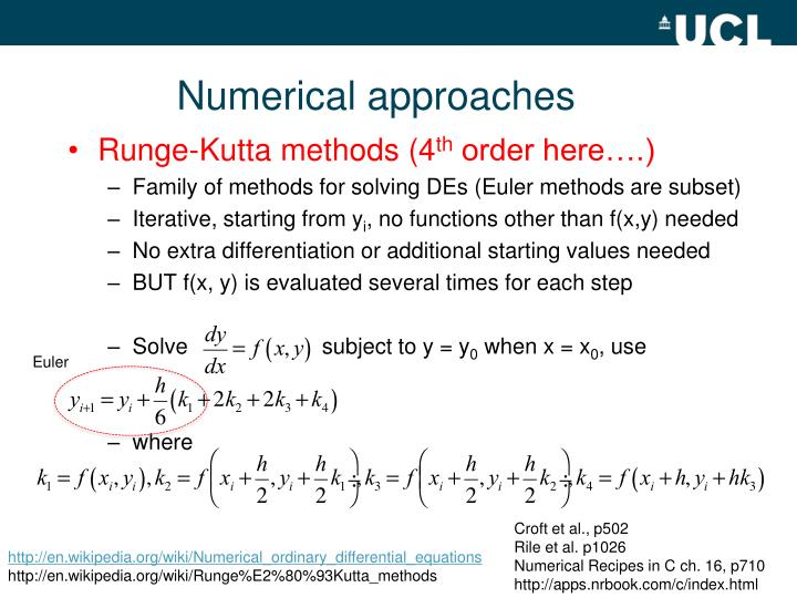 Numerical approaches