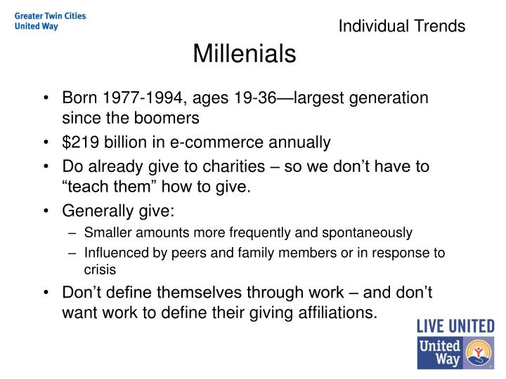 Individual Trends