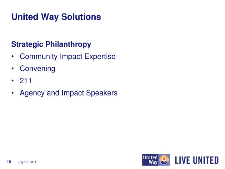 United Way Solutions