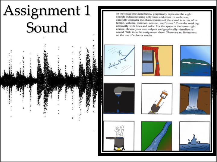 Assignment 1 sound