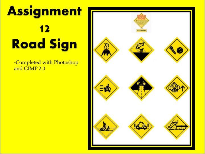 Assignment 12