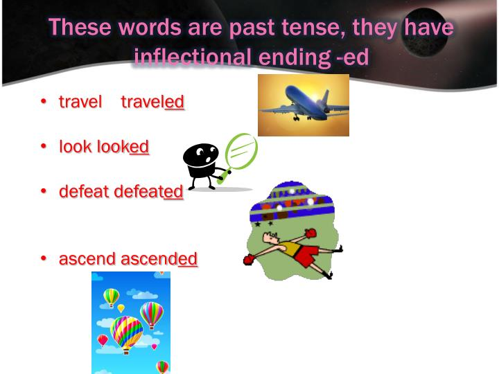 what past tense travel