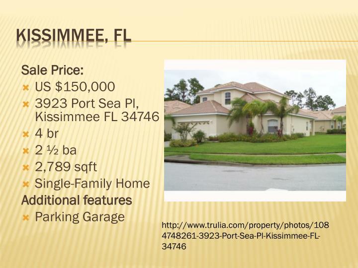 Sale Price: