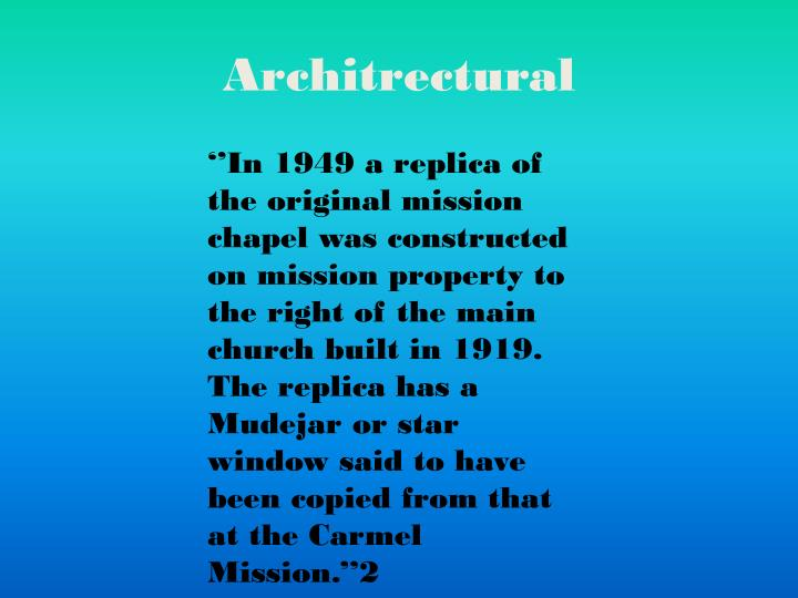 Architrectural