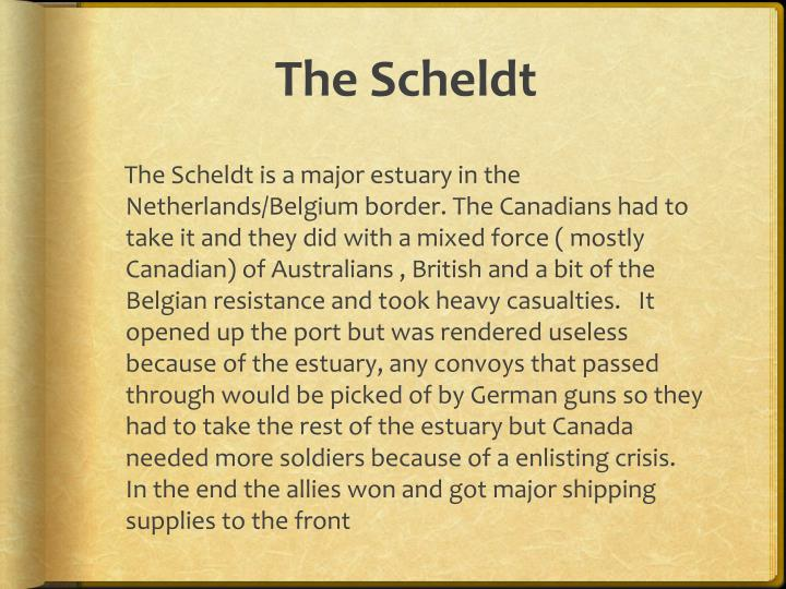 The Scheldt