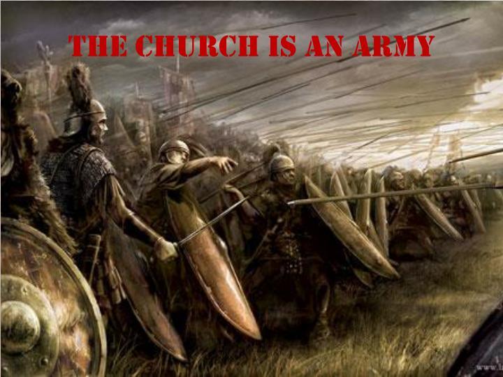 The church is an