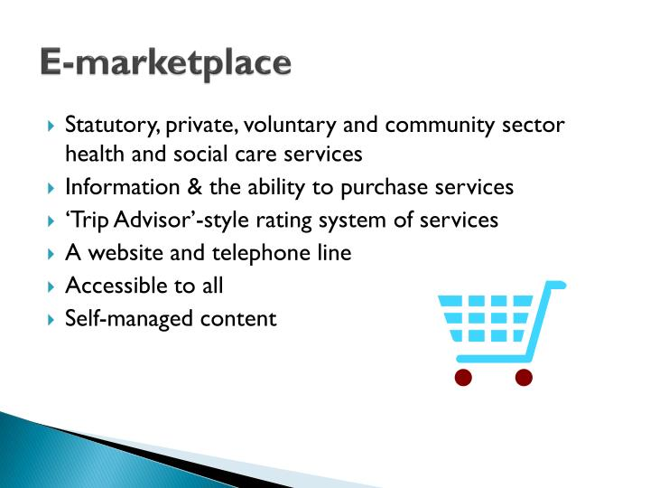 E marketplace
