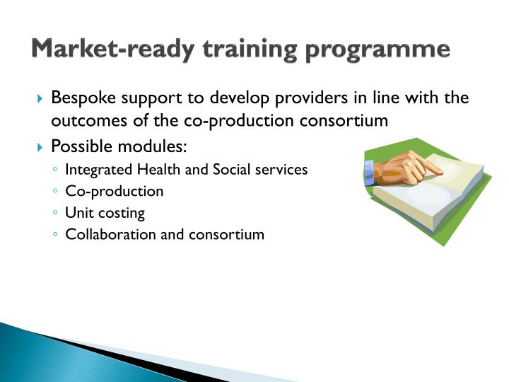 Market-ready training programme