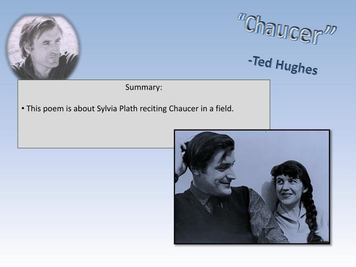 """Chaucer"""