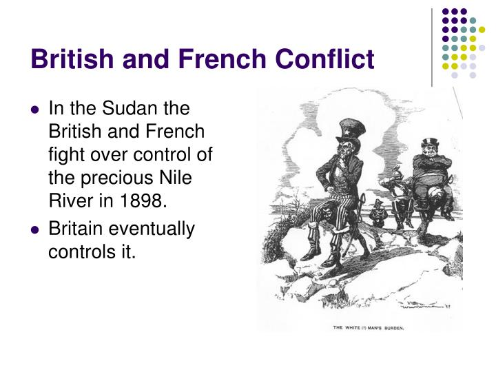 British and French Conflict