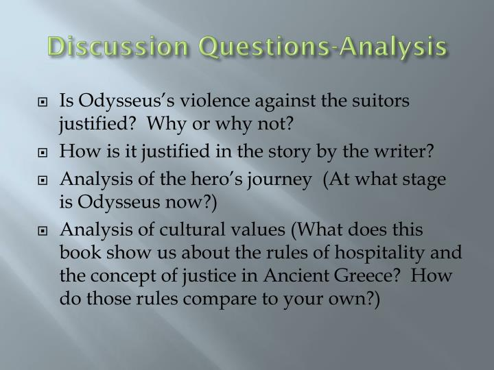 Discussion Questions-Analysis