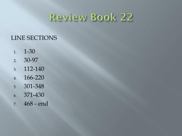 Review Book 22