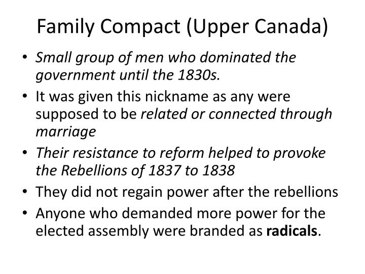 Family Compact (Upper Canada)