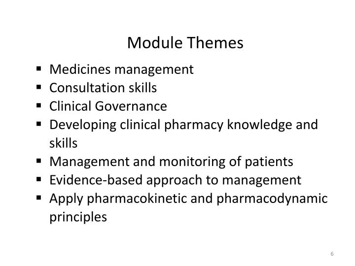 Module Themes
