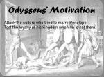 odysseus motivation