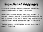 significant passages