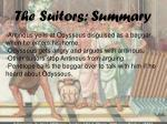 the suitors summary